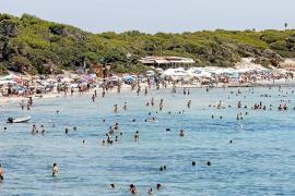 Domingo de aglomeraciones en playas
