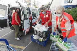 S.A., usuaria de Cruz Roja: «Vivo en ses Feixes porque no tengo otro sitio»
