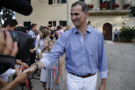 Los Reyes en Baleares, bajo la sombra del rey emérito