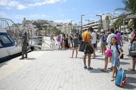 Los hoteles de Formentera «capean el temporal» en agosto