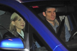 Los duques  de Palma abandonan Barcelona
