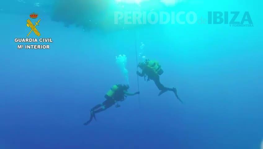Los GEAS buscan al submarinista fallecido en Mallorca