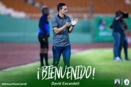 David Escandell, nuevo entrenador del Sant Jordi