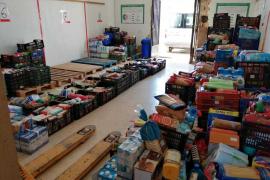Festes de la Terra recogen 3.000 kilos de alimentos y productos de primera necesidad