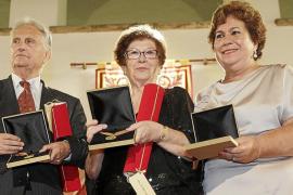 Medallas de oro para tres grandes