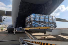 Llega al Líbano un avión del Ejército español con ayuda tras la explosión