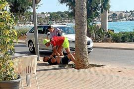 Dos turistas reconocen y retienen en Mallorca al ladrón que les robó dos días antes