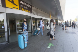 El aeropuerto de Ibiza registra en julio una caída del 68% de pasajeros con respecto a 2019