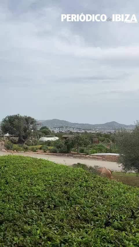 El barro podría acompañar algunas lluvias en Ibiza a lo largo del día