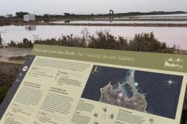 """Nueva señalización patrimonial a pie de monumentos y ruta de """"running"""" en Formentera"""