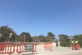 Formentera cierra el acceso a Illetes para evitar aglomeraciones