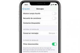 Así puedes bloquear números de teléfono, contactos y correos en tu teléfono móvil iPhone