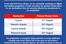 Jet2 y Tui retrasan el regreso de sus rutas a Ibiza hasta fin de mes
