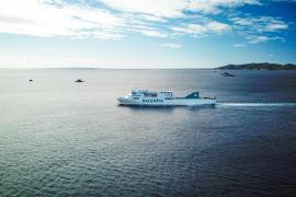 Baleària incorpora a su flota el sexto barco a gas natural que unirá Ibiza con Barcelona