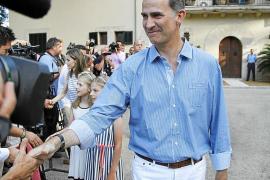 Los Reyes visitarán el lunes el Museo de Puig des Molins y Sant Antoni