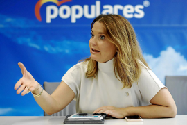 Margalida Prohens: «Iglesias tiene la cúpula de Podemos imputada, que sea coherente»