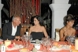 Isak Andic, presidente de Mango, fiel a Ibiza