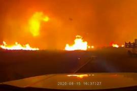Un tornado de fuego arrasa el norte de California