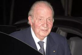 El Rey Juan Carlos I está en Emiratos Árabes Unidos