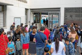 Patios parcelados, entradas por turnos y sin padres, la 'nueva normalidad' de los colegios de Baleares