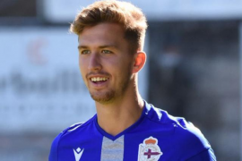 El joven central Iago Parga, del filial del Deportivo, se vincula a la Peña