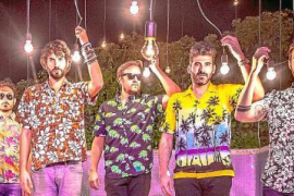 Doble concierto de Izal en el Mallorca Live Festival