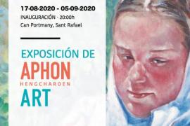 AphonArt, la exposición con los retratos de la Ibiza más pura, aterriza en Can Portmany