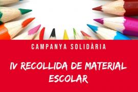 Joventuts Socialistes d'Eivissa inicia una campaña de recogida de material escolar