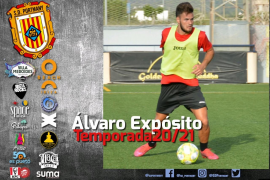 La SD Portmany suma a Álvaro Expósito