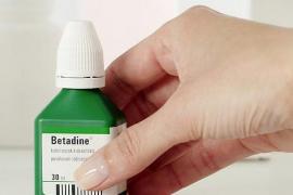 Betadine, clorhexidina, alcohol... ¿para qué sirve cada uno?