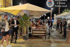 La Policía cierra 16 locales de ocio en sa Penya y el puerto de Ibiza