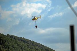 Controlado el incendio forestal de Sa Talaia de Sant Antoni