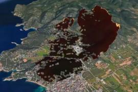 Así de devastador pudo haber sido el incendio de Sa Talaia