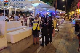 La Policía Local cierra siete establecimientos de ocio nocturno y un prostíbulo en Ibiza