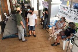 Sant Josep consiente el primer día hábil del campamento de los Don Pepe