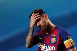Messi comunica al Barcelona su intención de abandonar el club