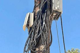 Una avería deja sin línea de fibra óptica a Formentera