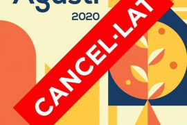 El coronavirus obliga a suspender las fiestas de Sant Agustí