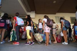 Al menos 42 centros de Baleares piden más espacios y Educació prevé 30 aulas modulares