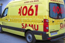 Herido un motorista en Sant Antoni tras chocar con un ciclomotor
