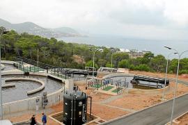Sant Josep quiere conectar el saneamiento de cala Vedella a la EDAR de cala Tarida