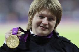 Retiran el oro por dopaje a la lanzadora de peso bielorrusa