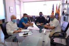 Sant Antoni firma el nuevo contrato de suministro y mantenimiento de las instalaciones de alumbrado público