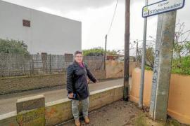 Un vecino de Sant Jordi deberá retirar el muro que bloqueaba la calle de s'Espalmador desde hace décadas
