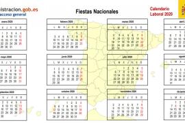 Calendario laboral 2020: ¿qué festivos quedan hasta fin de año?