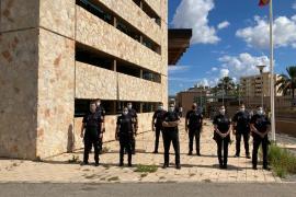 La comisaría de la Policía Nacional de Ibiza da la bienvenida a 20 policías en prácticas
