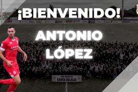 La Peña incorpora al delantero Antonio López