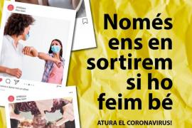 Ibiza impulsa una campaña de concienciación para frenar el coronavirus