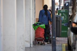 Cáritas Ibiza: menos usuarios pero el almacén al borde del colapso