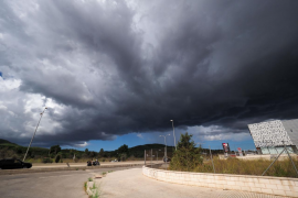 Jornada lluviosa e inestable en las Pitiusas